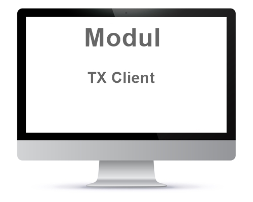 TX Modul weiterer Client Administration / Personalbüro